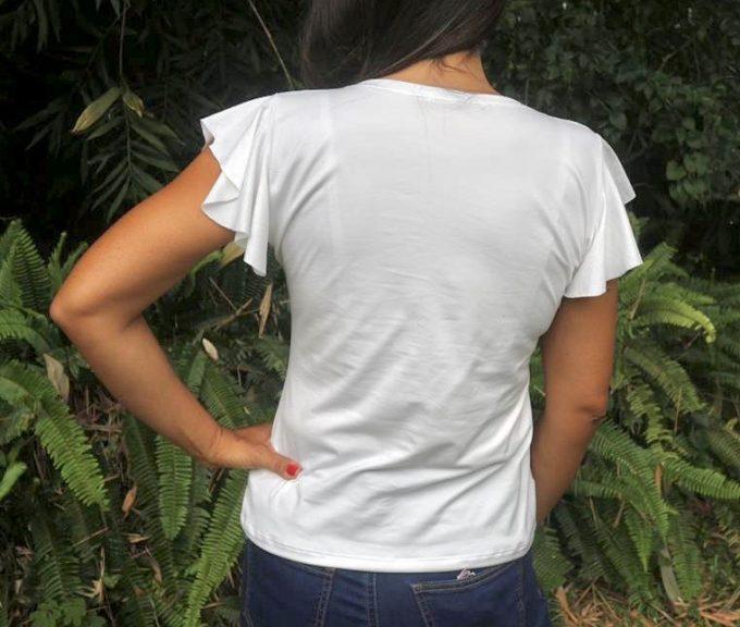 Camiseta Morpho cypris manga vuelo
