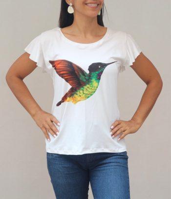 Camiseta Colibrì Inca ventridorado