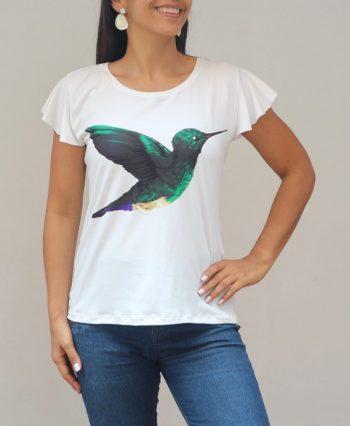 Camiseta Colibrí esmeraldero
