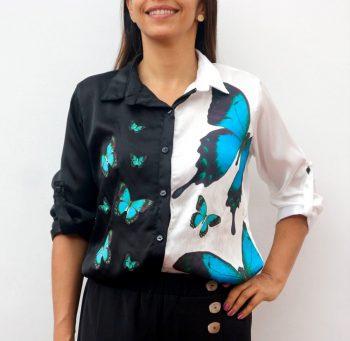 Camisa Black&White Talla M Lorquinianus