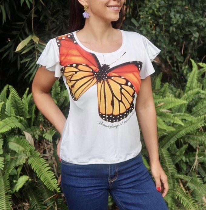 Camiseta Mariposa Monarca