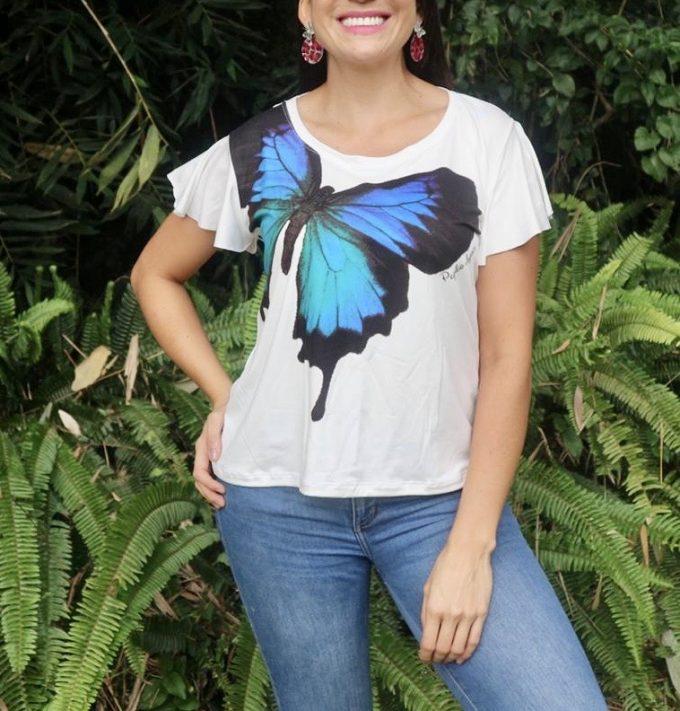 Camiseta Talla S Papilio Ulysses