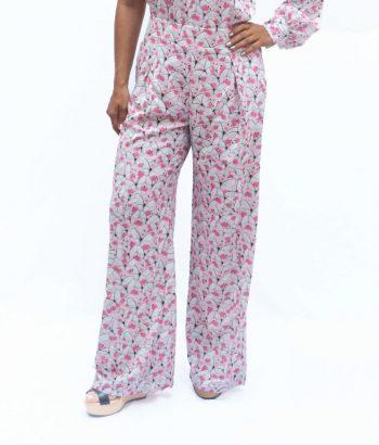Pantalón mariposas rosadas