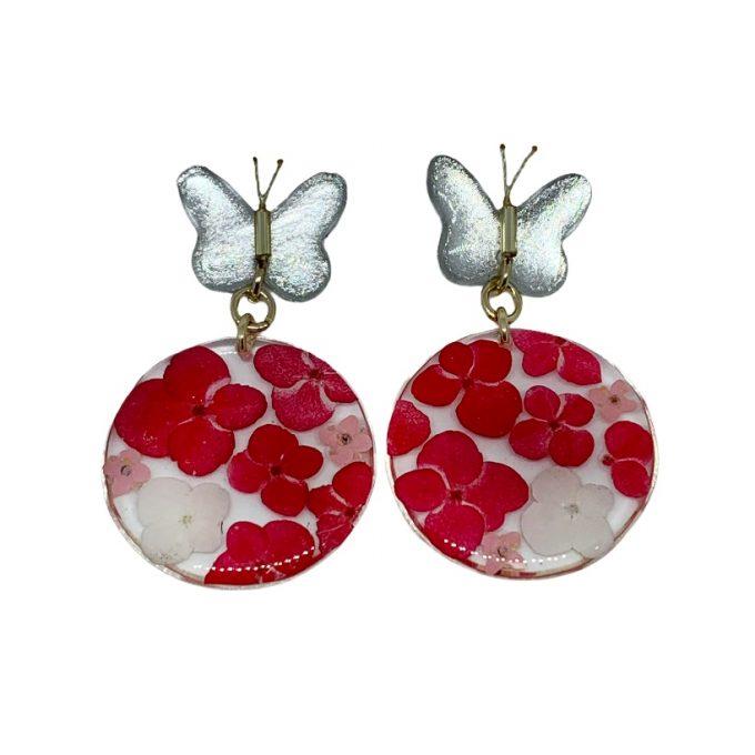 arte flor topo mariposa